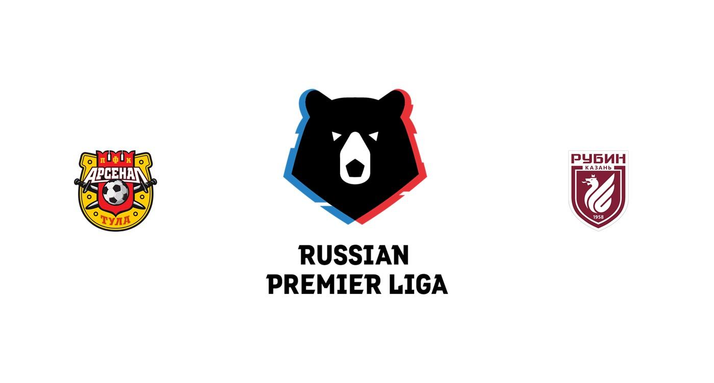 Arsenal Tula vs Rubin Kazan