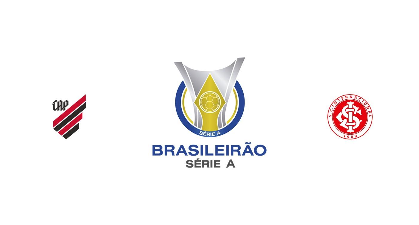 Athletico Paranaense vs Internacional
