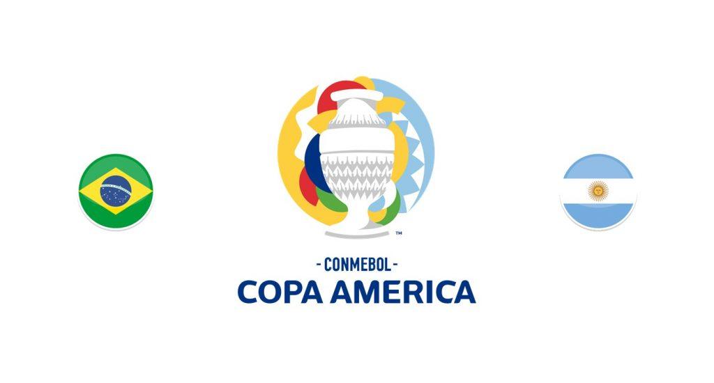 Brasil vs Argentina Previa, Predicciones y Pronóstico 10/07/2021