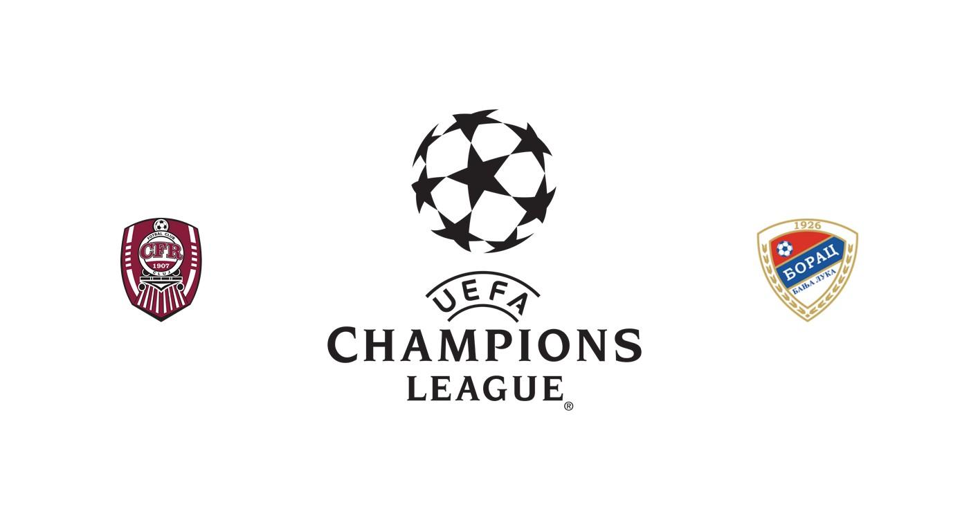 CFR Cluj vs FK Borac