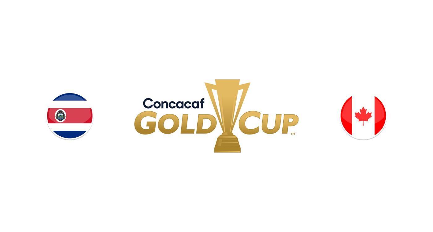 Costa Rica vs Canadá