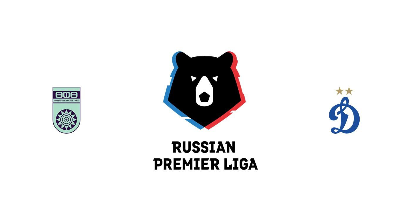 FC UFA vs Dinamo Moscú