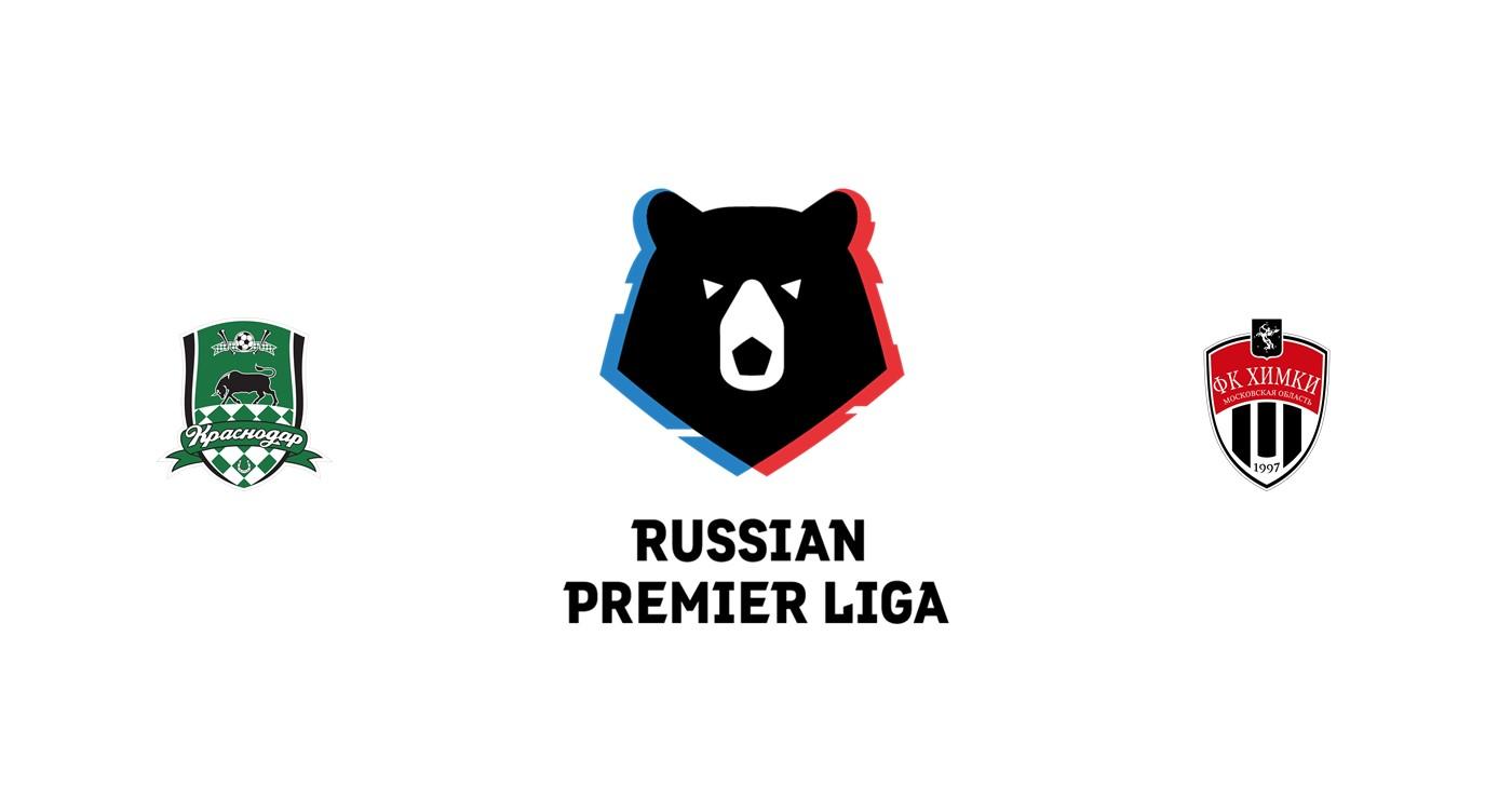 Krasnodar vs FC Khimki