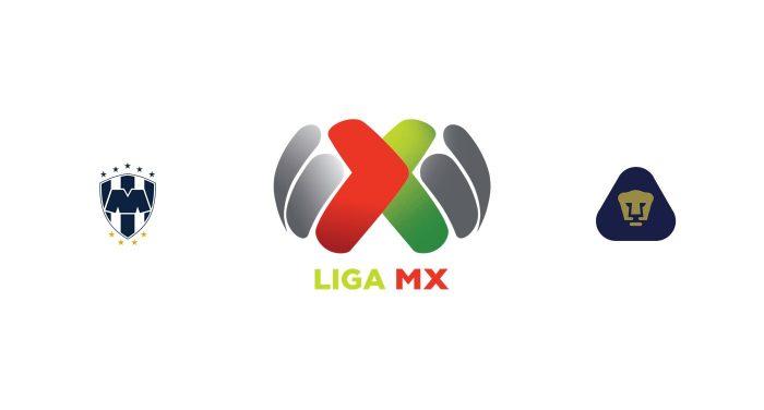 Monterrey vs Pumas UNAM Previa, Predicciones y Pronóstico