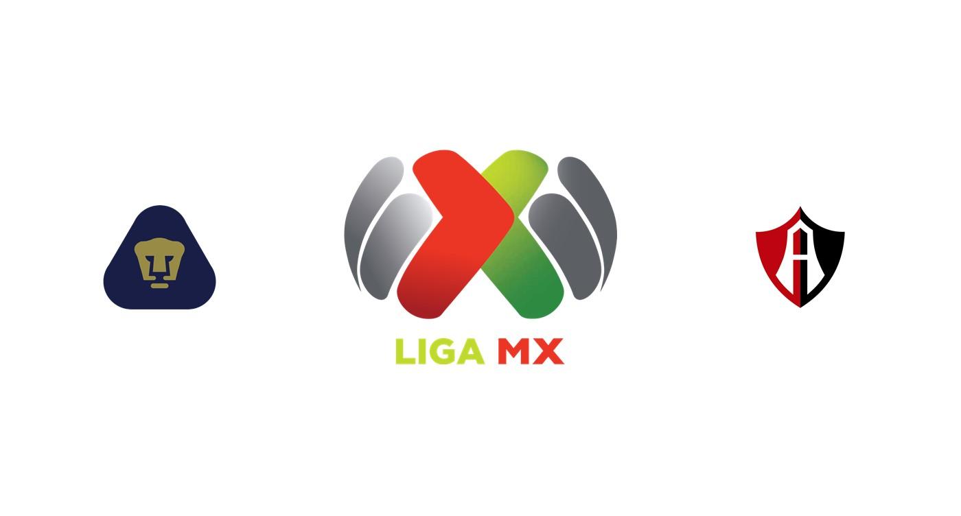 Pumas UNAM vs Atlas