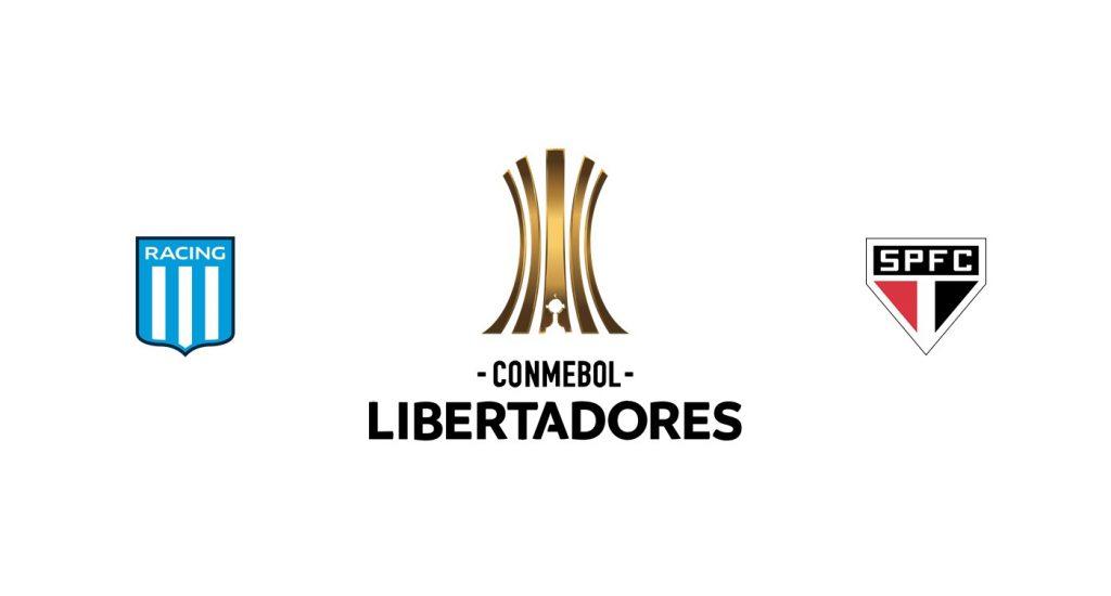 Racing Club vs Sao Paulo Previa, Predicciones y Pronóstico