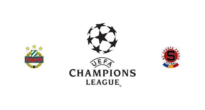 Rapid Viena vs Sparta Praga Previa, Predicciones y Pronóstico
