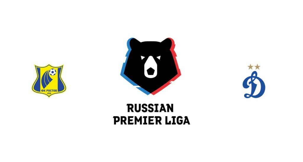 Rostov vs Dinamo Moscú Previa, Predicciones y Pronóstico