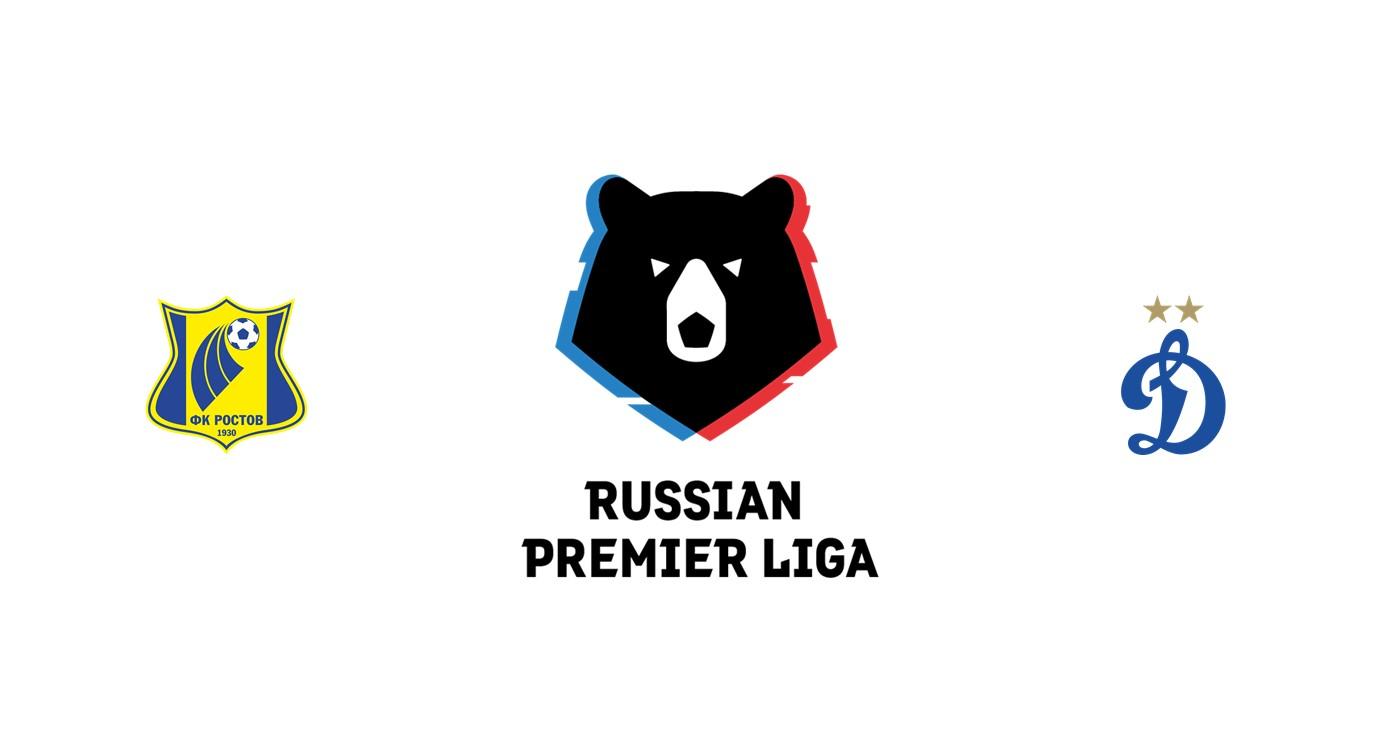 Rostov vs Dinamo Moscú