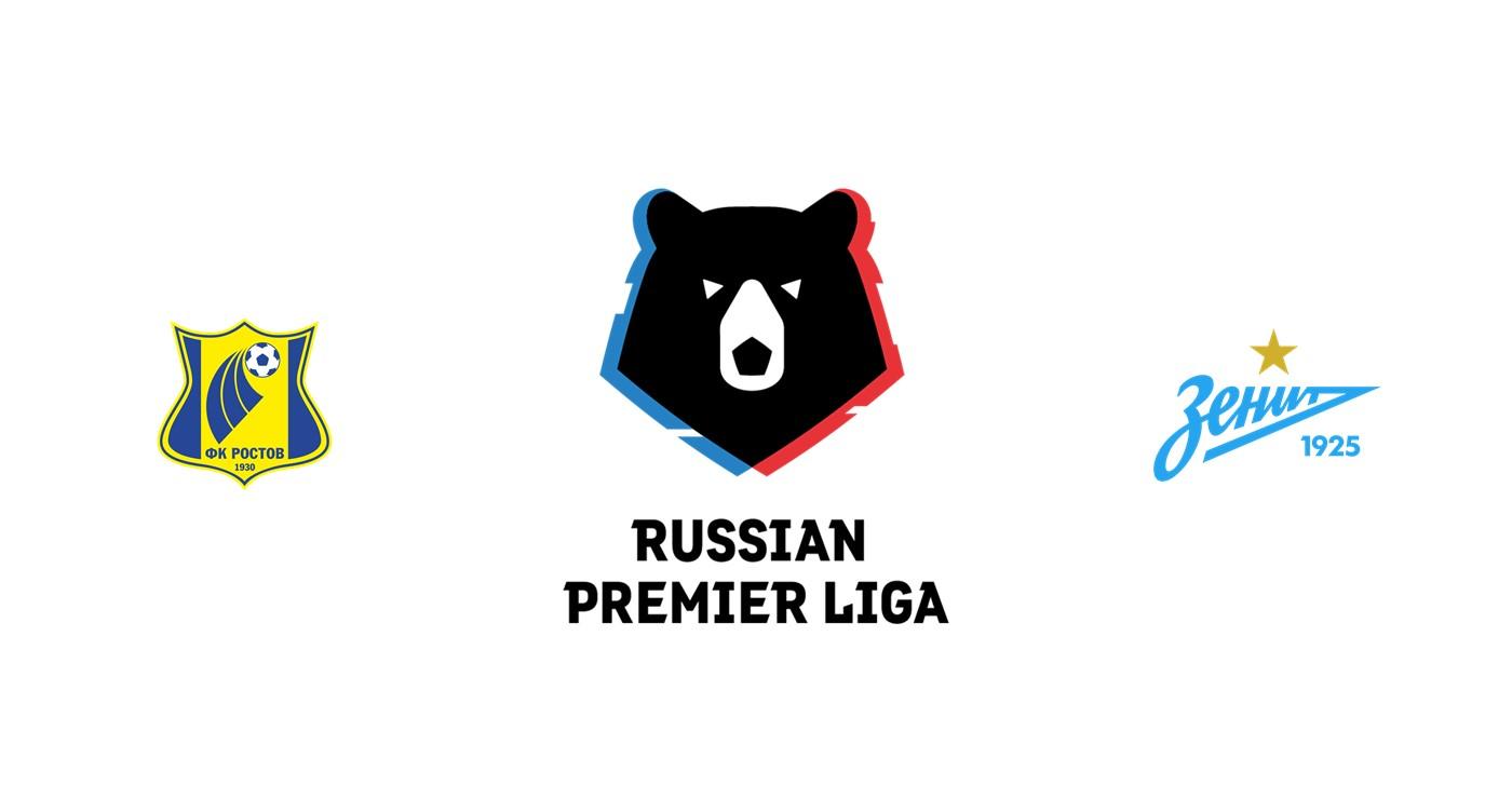 Rostov vs Zenit