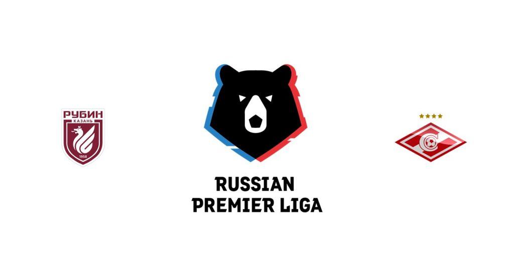 Rubin Kazan vs Spartak Moscú Previa, Predicciones y Pronóstico