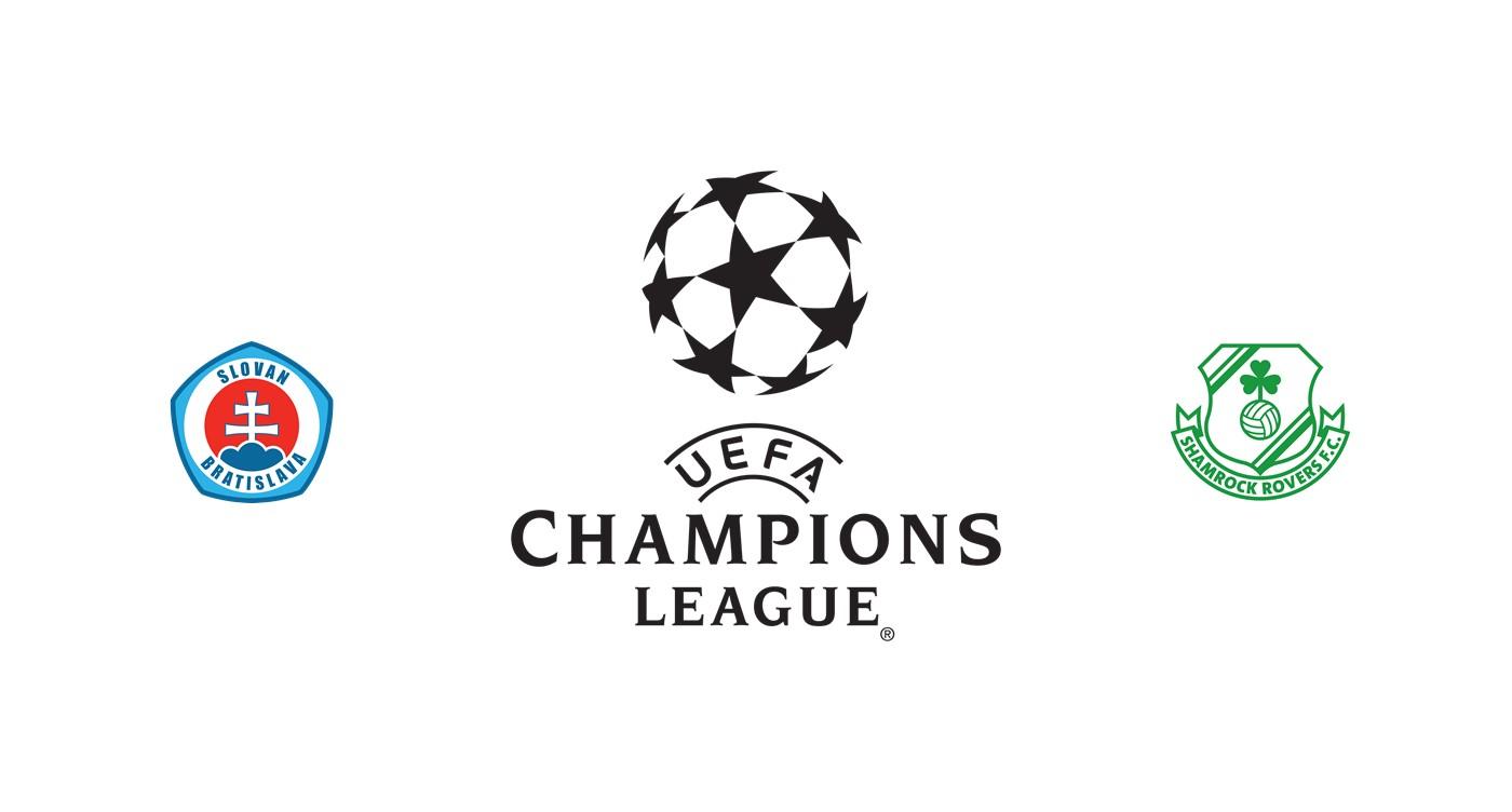 Slovan Bratislava vs Shamrock Rovers