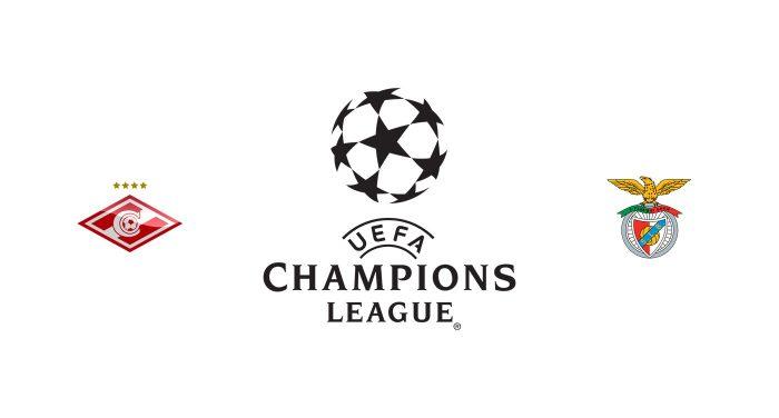 Spartak Moscú vs Benfica Previa, Predicciones y Pronóstico