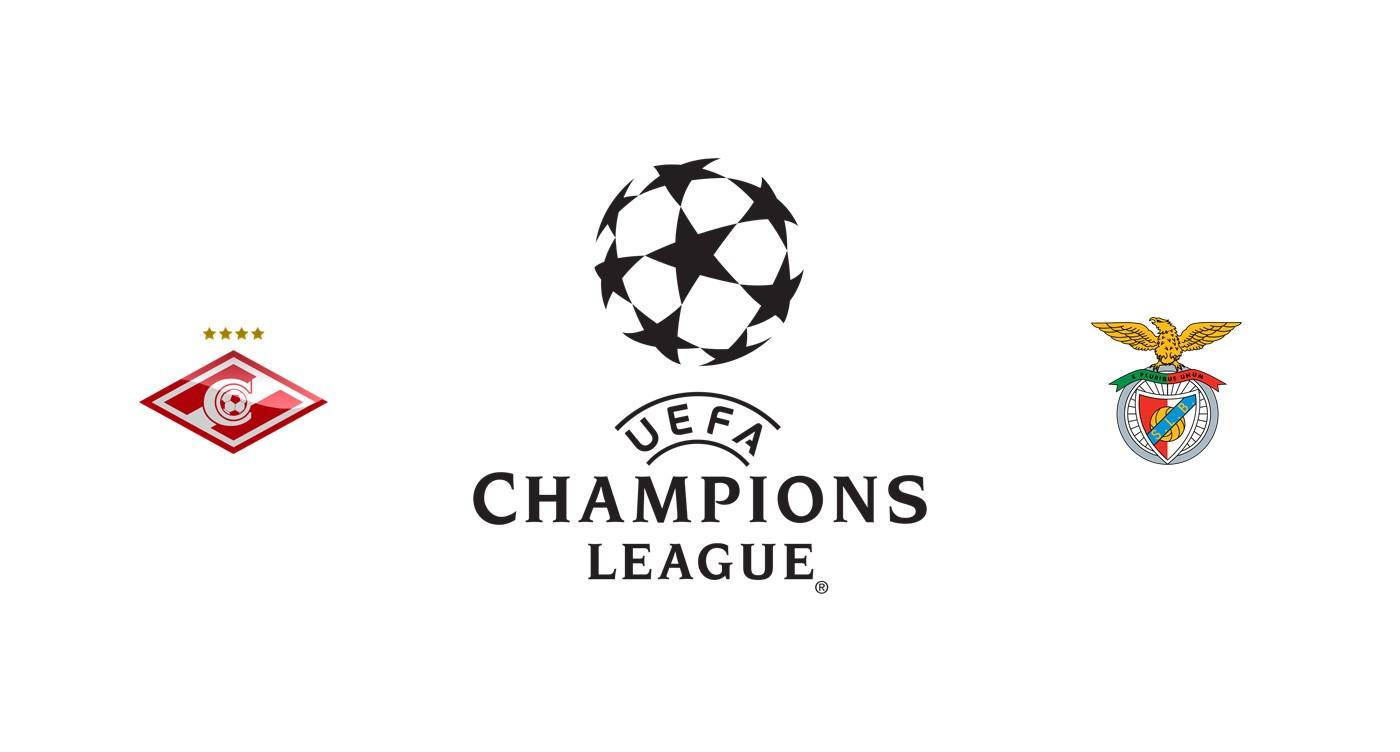 Spartak Moscú vs Benfica