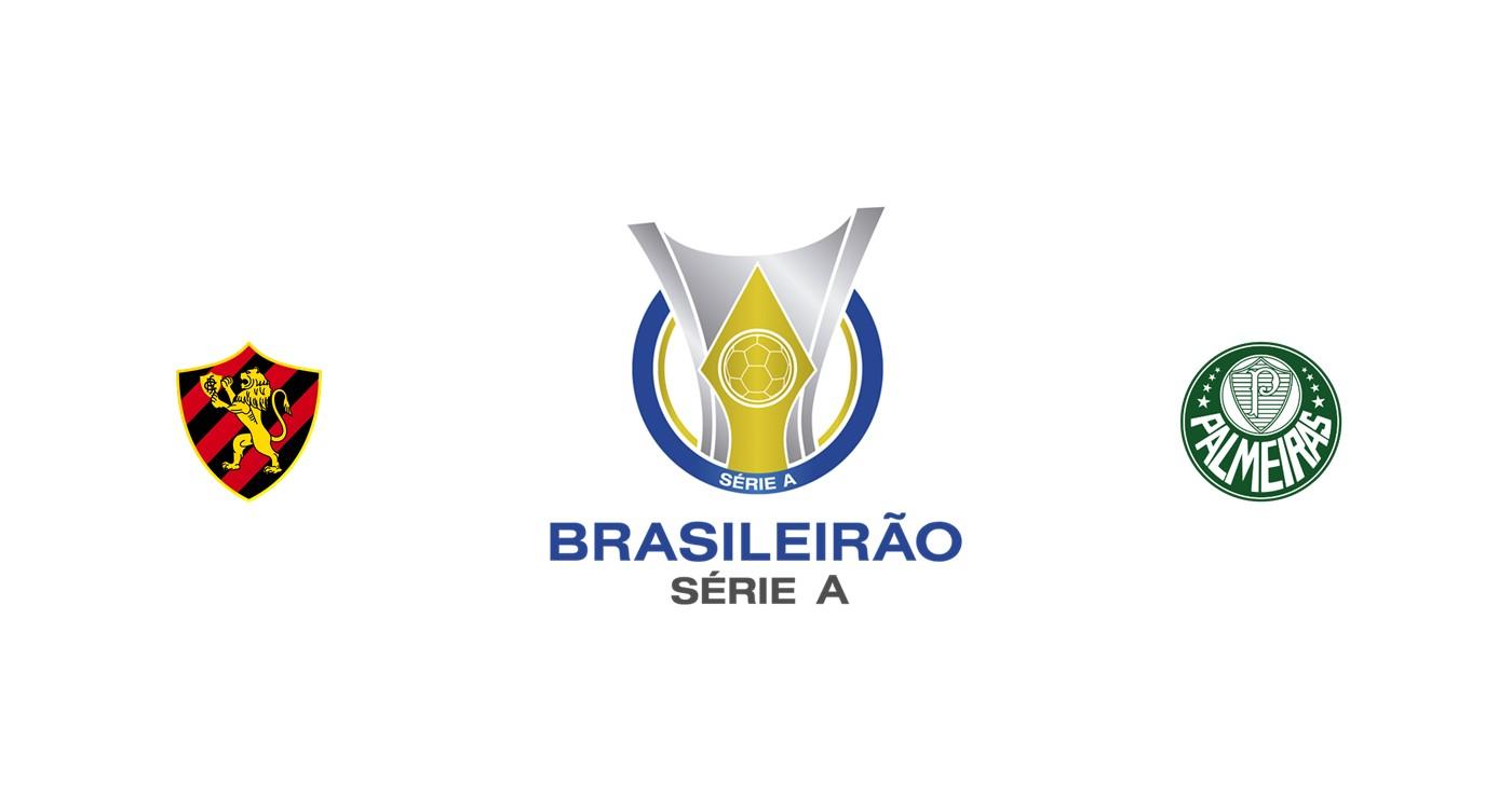 Sport Recife vs Palmeiras