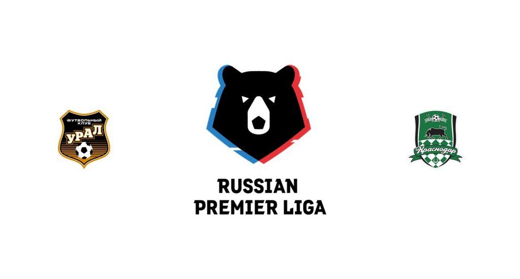Ural vs Krasnodar Previa, Predicciones y Pronóstico