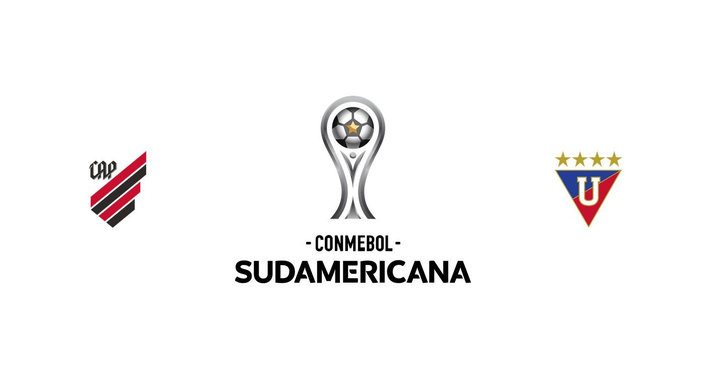 Athletico Paranaense vs LDU