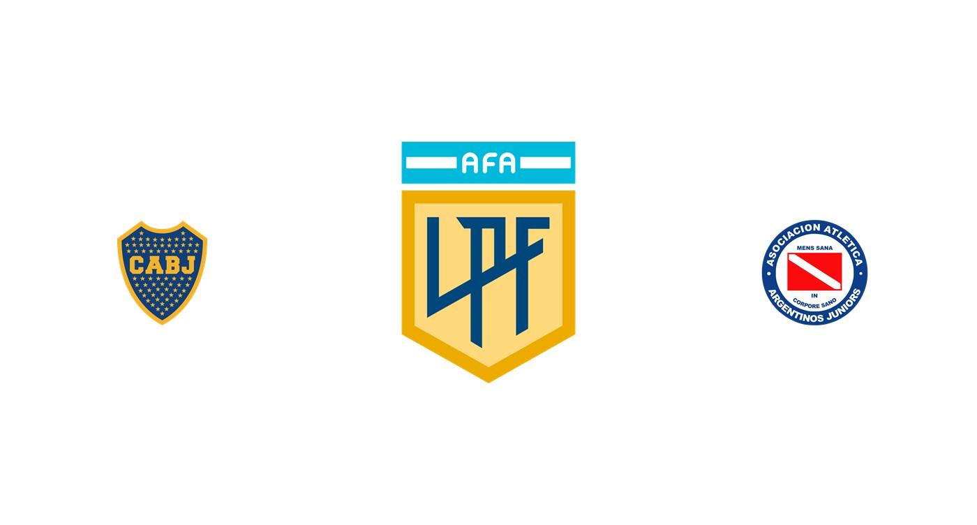Boca Juniors vs Argentinos Juniors