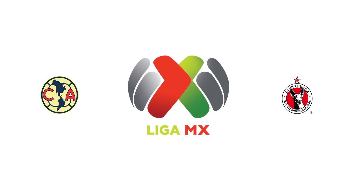 Club América vs Tijuana
