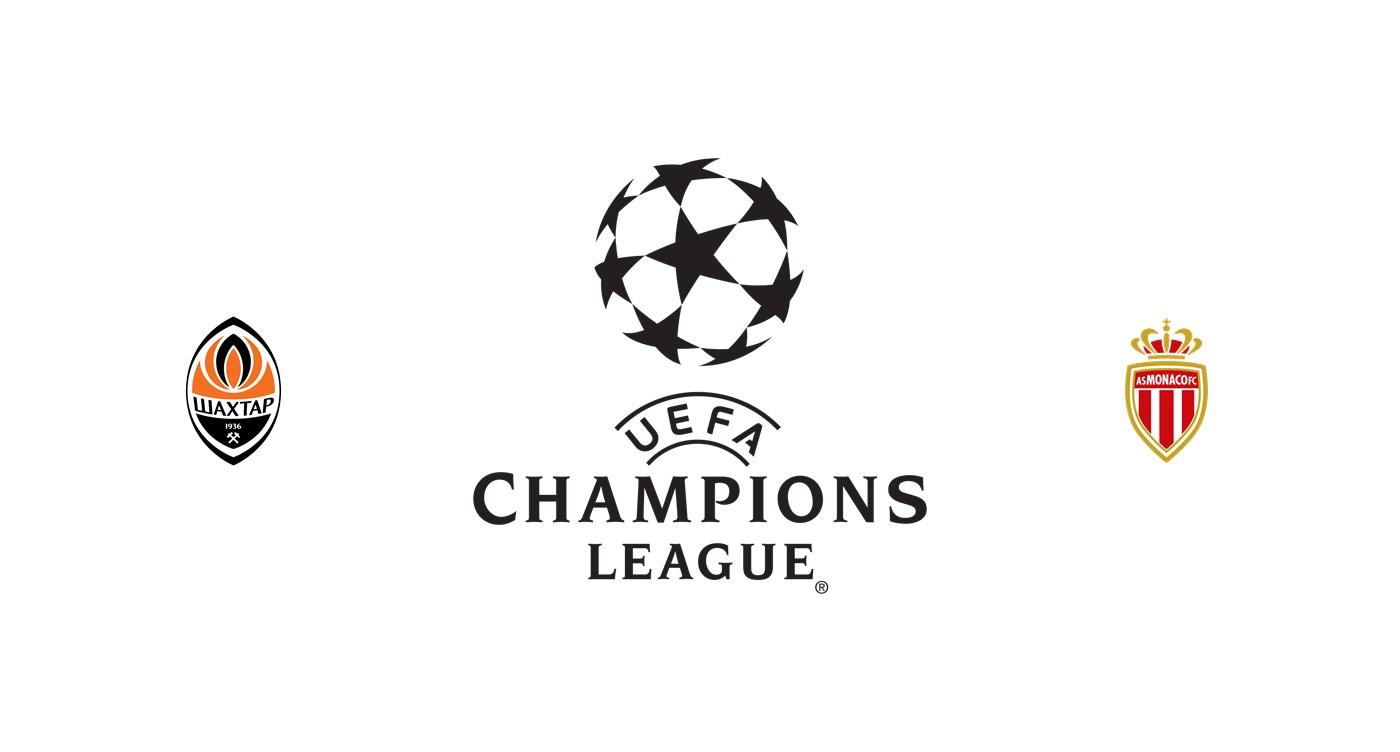 Shakhtar Donetsk vs Mónaco