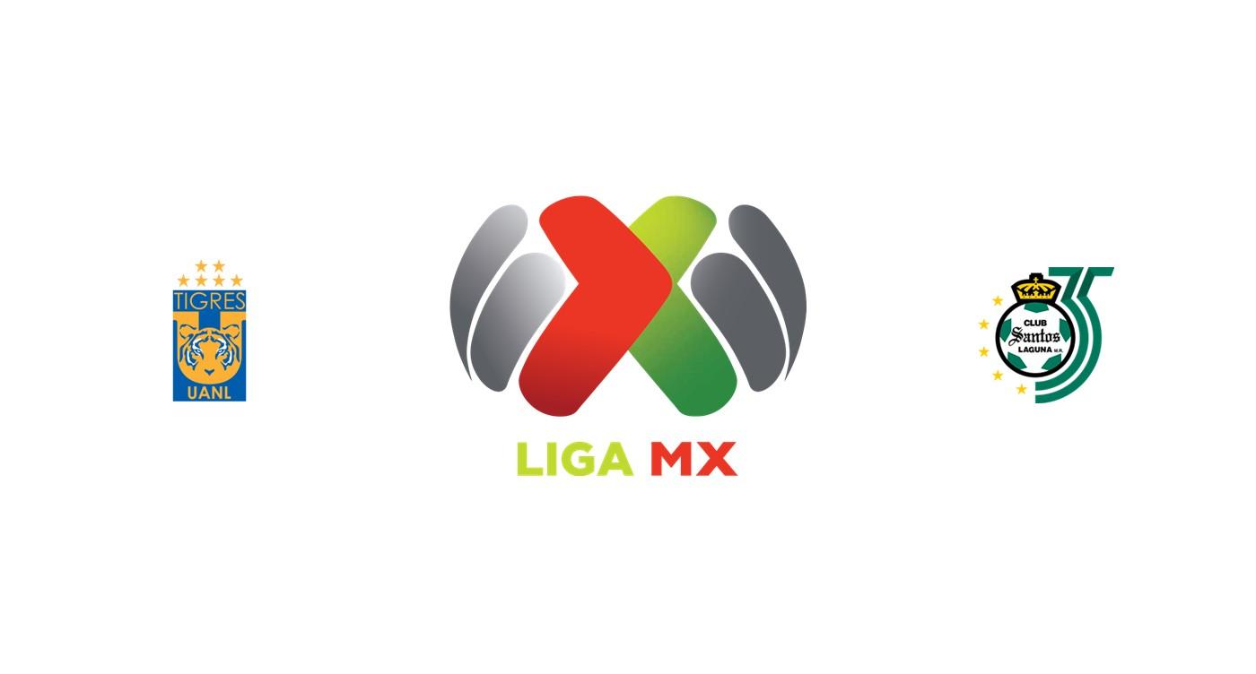 Tigres UANL vs Santos Laguna