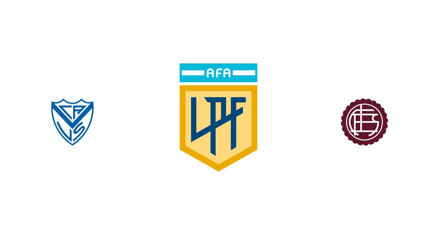 Vélez Sarsfield vs Lanús