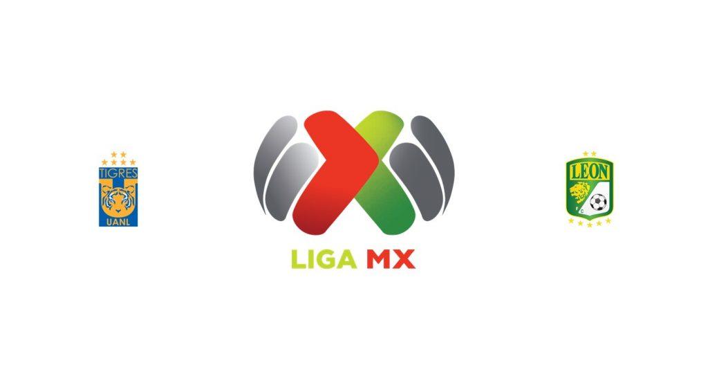 Tigres UANL vs León Previa, Predicciones y Pronóstico