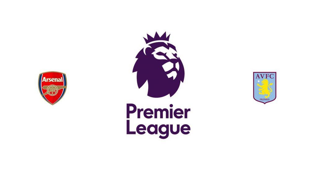 Arsenal vs Aston Villa Previa, Predicciones y Pronóstico